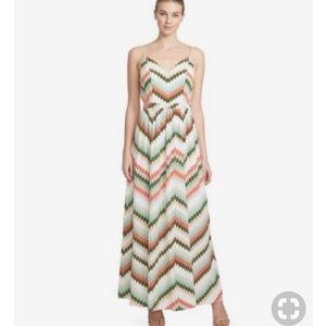 1. STATE Crossback Maxi Dress Size S